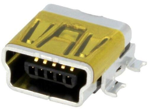 5 horizontal MOLEX 2X 67503-1020 Buchse USB B mini auf PCB SMT PIN