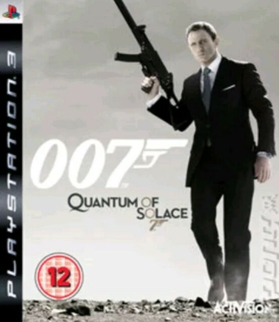 007 Quantum of Solace PS3 PlayStation Manual only