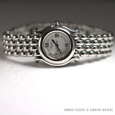 CHOPARD DIAMOND STAINLESS HAPPY SPORT WATCH 5 DIAMOND 27/8250-23