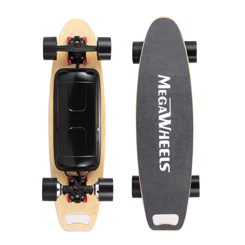 500W Selbstausgleich Elektro Longboard Skateboard Elektrisches Dual Motor Neu De