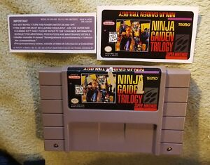 Ninja-Gaiden-Trilogy-Snes-Super-Nintendo-Authentic-Comes-with-replacement-label