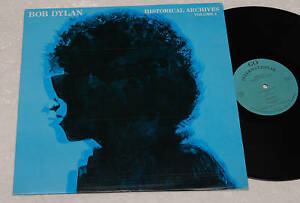 BOB-DYLAN-LP-HISTORICAL-ACHIVES-1-PRES-ITALY-NM