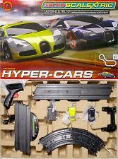 2015 Micro Scalextric Bugatti Veyron Hyper HO Slot Car Nice RACE SET 1:64 G1108