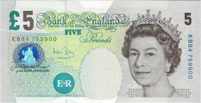 QEII 391c 2004 Great Britain 5 pounds, UNC /> England P-391