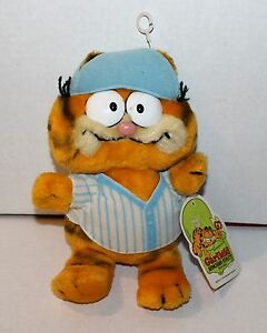 "Garfield the Cat Armchair Athlete Bean Bag Plush ""Baseball ..."