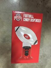 Item 1 The Ohio State University Red Clear Plastic Football Candy Dispenser Office Desk