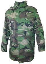 Veste/Parka militaire Tcheque M97 camouflage woodland