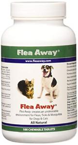 Flea Away All Natural Flea, Tick, Mosquito Repellent fo