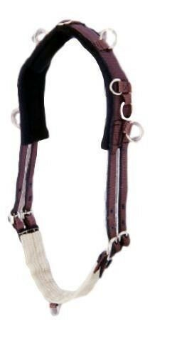 Performers 1st Choice Pro Nylon Training Surcingle with 4 Wide Back  cavallo