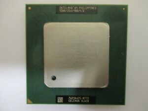NEW-INTEL-1200-256-100-1-5-CELERON-SL6C8-SOCKET-370-CPU-New-Surplus