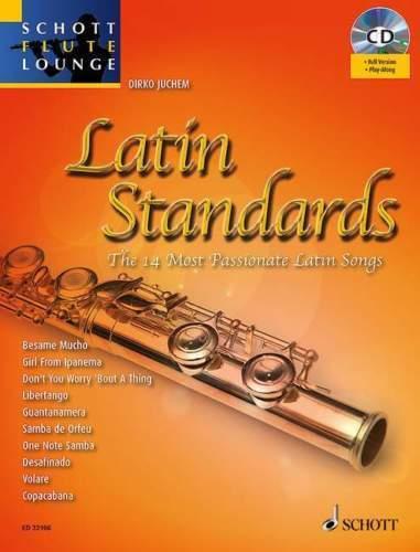 1 von 1 - Latin Standards für Flöte mit CD, Dirko Juchem, ED 22106 NEUWERTIG !!