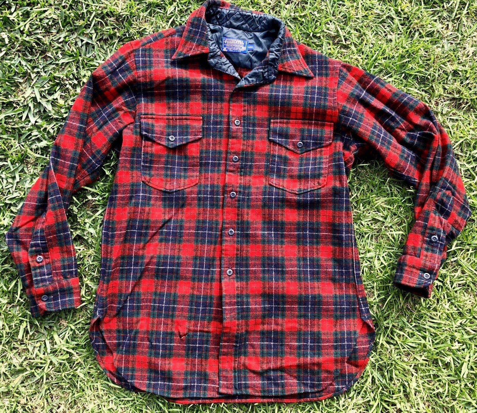 130bf85f067 Vintage Pendleton 100% Virgin Wool Long Sleeve Mens Sz 16 1 2 Made In USA. HUGO  BOSS MEN S SKY blueE SHORT SLEEVE POLO RUGBY SHIRT SIZE M 6198