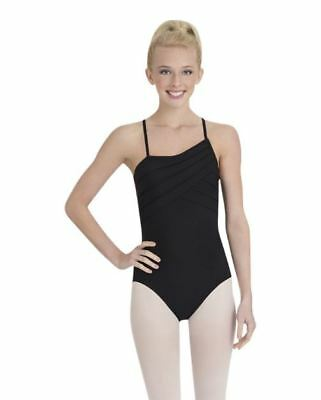 adc10de130f2b Capezio Adult Black Geometric Strap Cami Leotard Ballet Dance Jazz SzXS 24  for sale online | eBay