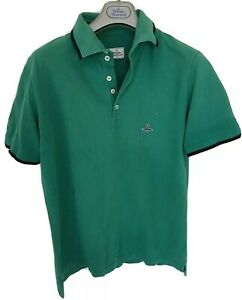 Mens-MAN-by-VIVIENNE-WESTWOOD-short-sleeve-polo-shirt-size-XL-large-RRP-195