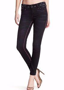 Halle Sz26 Jeans New Stretch Skinny Super Midrise Religion True T wZwt6
