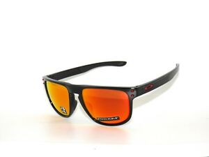 9e60abf200 OAKLEY HOLBROOK R 9377-07 POLISHED BLACK PRIZM RUBY POLARIZED ...