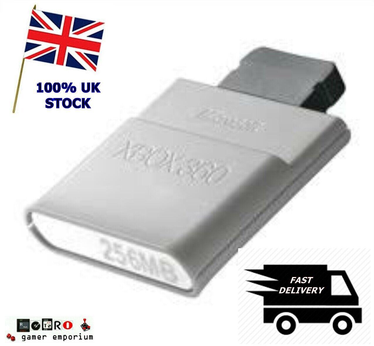 GENUINE OFFICIAL MICROSOFT XBOX 360 256MB Meg Memory Card Unit x1