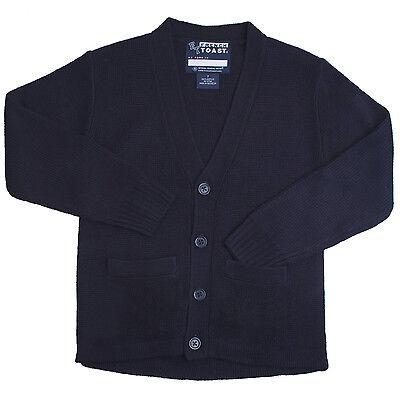 Kids Navy Vest Sweater V-Neck French Toast School Uniform Sizes 4 to 20