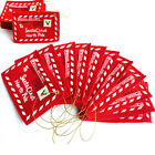 1/5pcs Cards Candy Envelope Christmas Bag Christmas Cards Decor Non-Woven Fabric