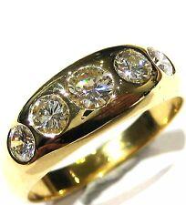1,35ct Hochwert-Brillantring, massiv 750 Gold, Unikat-Luxus-Feuerwerk,  6.650.-€