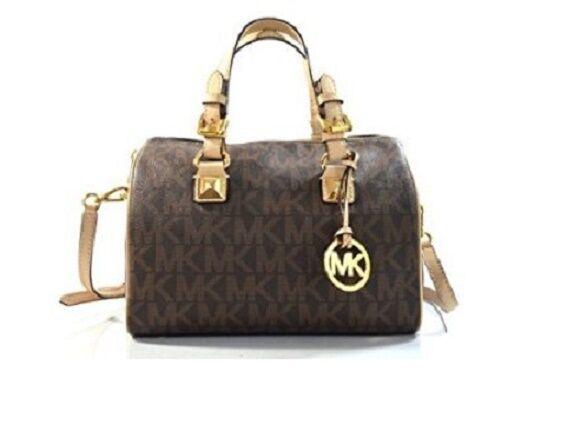 michael kors grayson medium satchel brown upc 889154009684 style rh ebay com