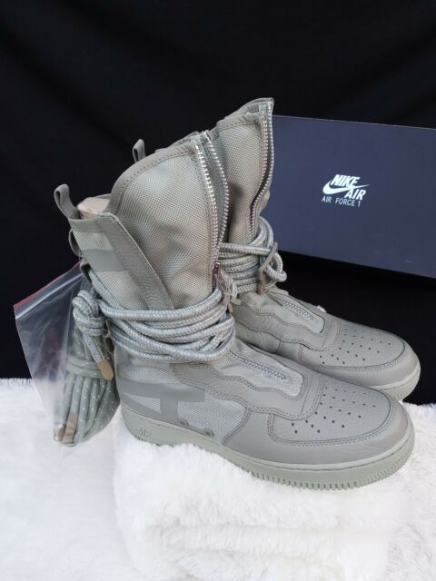 hot sale online db145 5eb79 9.5 MEN S Nike SF AF1 HI Sage Green Special Field AA1128-201 Air Force Boots