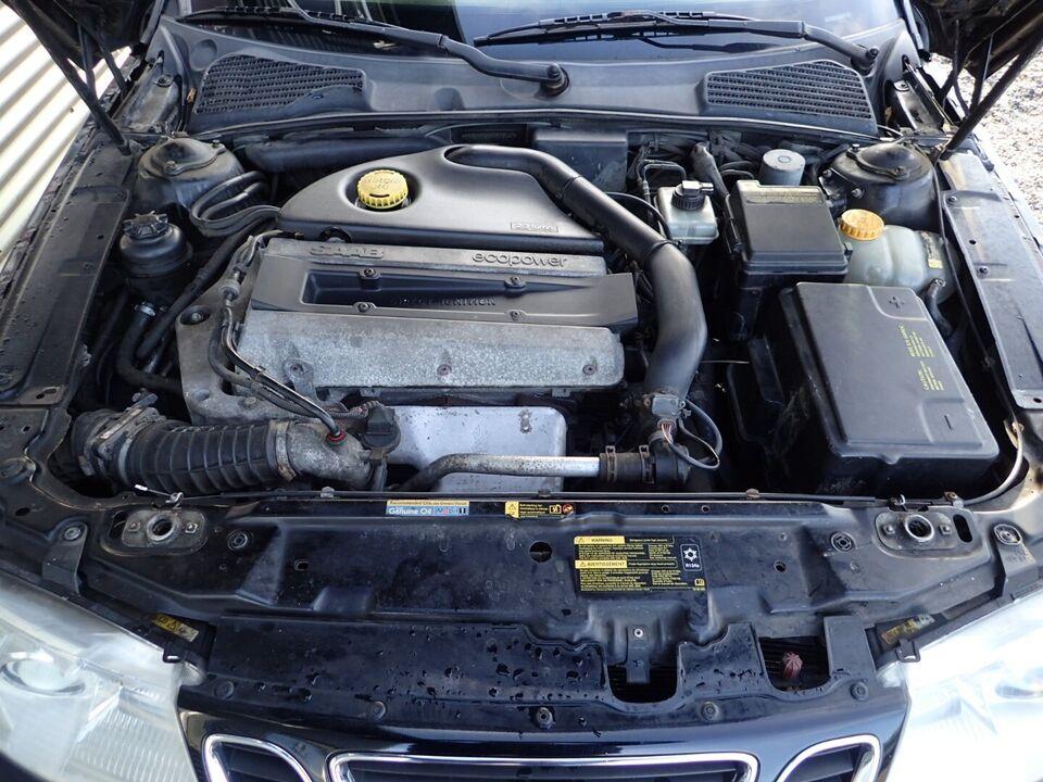 Saab 9-5 2,3 TS Aero SportCombi Benzin modelår 2005 km