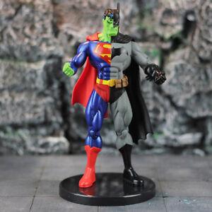 Super-Hero-Superman-X-Batman-PVC-Action-Figure-Collectible-Model-Toy-18cm-New