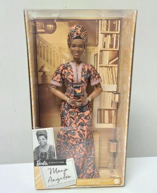 IN HAND - Barbie Inspiring Women Maya Angelou Doll - SHIPS NEXT BUSINESS DAY.