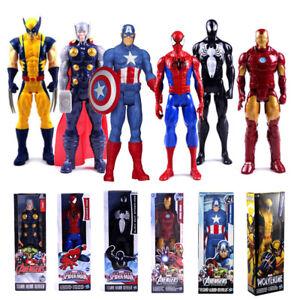 12 pollici Marvel Superhero Avengers Action Figure Giocattolo Home
