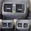For Honda CRV CR-V 2012-2016 Carbon Fiber Rear Air Condition A//C Vent Cover Trim