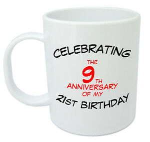 Image Is Loading Celebrating 30th Mug Birthday Gifts Presents For