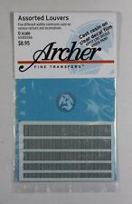 Archer O-Scale (1/48) Resin Louver Assortment Mix (half-size of AR88055) AR88086