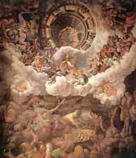 Giulio Romano The Fall Of The Giants 5 A4 Print