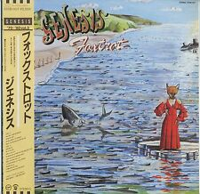 Genesis - Foxtrot JAPAN LP with OBI and LYRIC SHEET