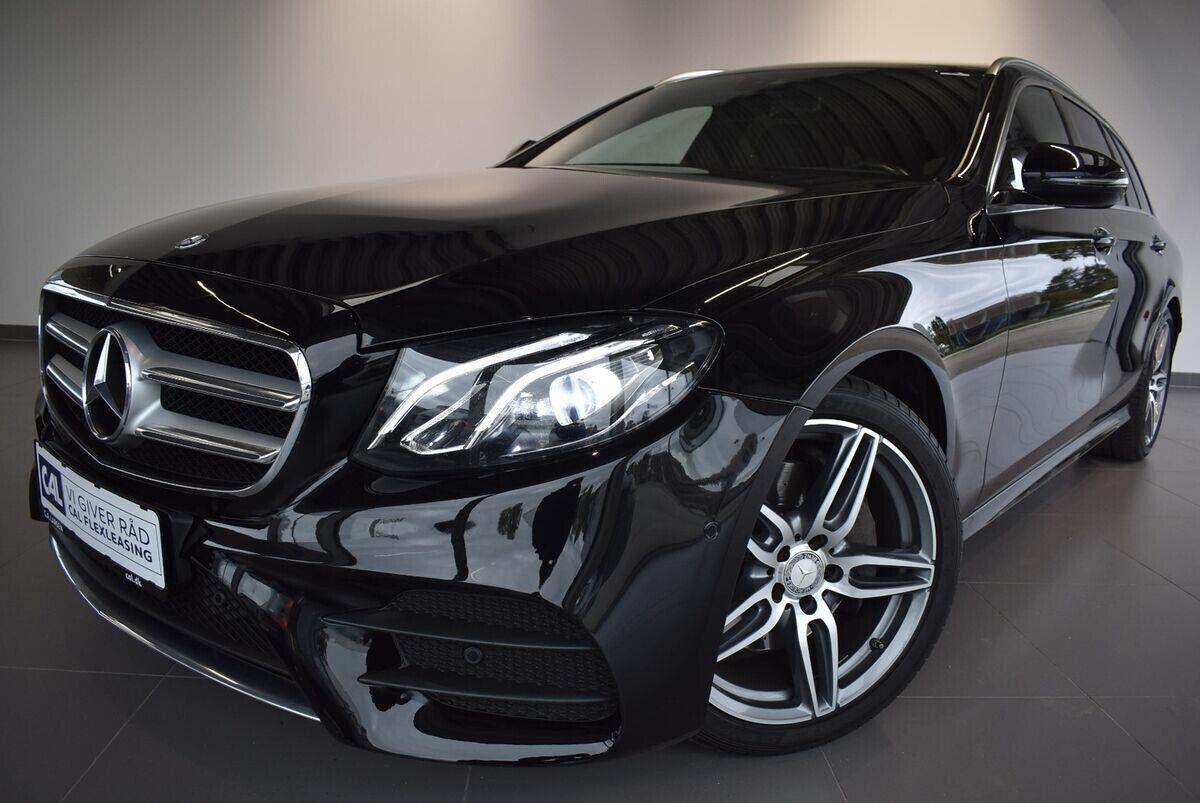 Mercedes E220 d 2,0 AMG Line stc. aut. 5d - 477.000 kr.