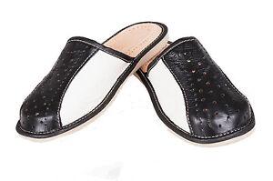 Pantoufles 11 pour Tongs 8 Sandales en Noir Mules 10 7 et 12 Cuir Taille6 Hommes Blanc 9 dCoWrxBe