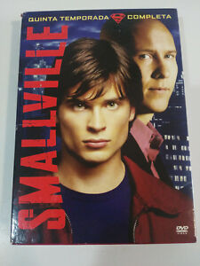 SMALLVILLE-QUINTA-TEMPORADA-5-COMPLETA-6-X-DVD-EXTRAS-CASTELLANO-ENGLISH