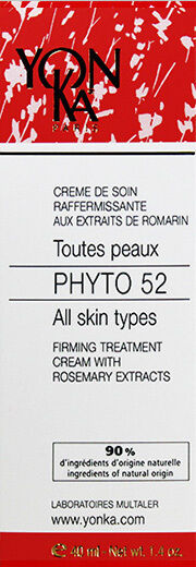 Yonka Phyto 52 Firming Cream All Skin 1.4oz(42ml) Brand New