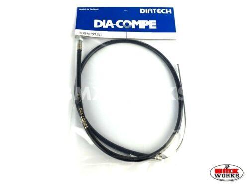 Genuine Dia-Compe Brake Cables Black 1 Front /& 1 Rear Old School Retro BMX