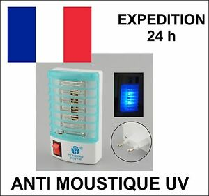 lampe anti moustique insectes uv electrique ebay. Black Bedroom Furniture Sets. Home Design Ideas