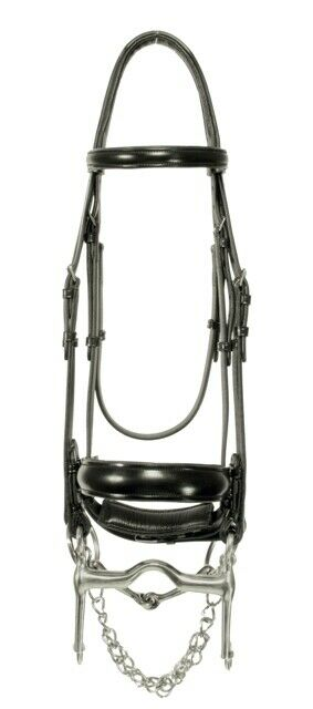 rosso Barn by KL Select Full Diuominiione Capriole Weymouth with Reins  doppio Bridle