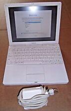 Apple iBook G4 Laptop w/Adapter- M9426LL/A A1054 - 30GB HD - SPRINGY KEYS - READ