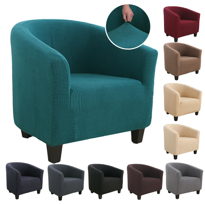 Elastic Tub Sofa Armchair Seat Cover Protector Dust-proof Furniture Slipcover