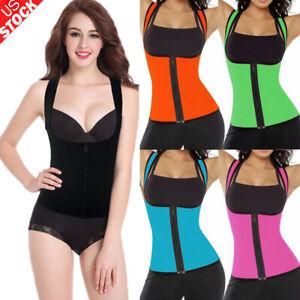 Hot Thermo Sweat Neoprene Body Shaper Slimming Waist Trainer Extreme Yoga Vest