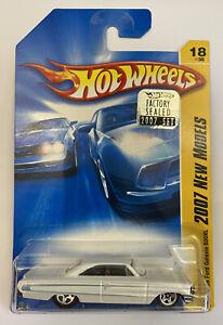 2007-HOTWHEELS-1964-64-034-Ford-Galaxie-500XL-American-Muscle-molto-RARO-MOC