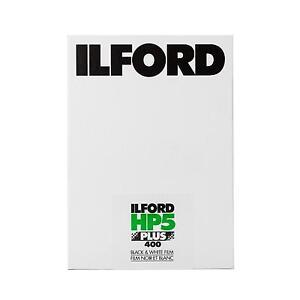 Ilford-HP5-HP-5-PLUS-400-Pelicula-PLANA-5x7-25-Blatt-S-W-B-W-Negro-Blanco