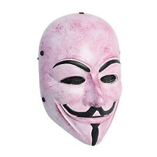 NEW Airsoft CS Paintball Wire Mesh Protection V for Vendetta Mask PROP Cosplay