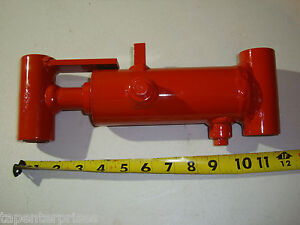 "Steering Cyclinder Hydraulic Ram 2"" Stroke 1"" Pin Dia. 614306 Snorkle Axle"