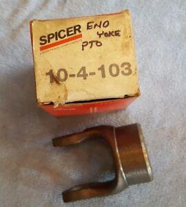 Spicer 10-4-52 End Yoke